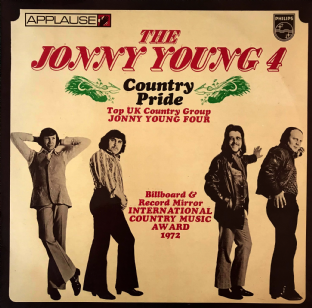 Jonny Young Four - Country Pride (LP) (G/G++)